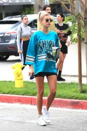Hailey Rhode Bieber at Cha Cha Matcha in West Hollywood 05/18/2019