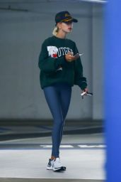 Hailey Rhode Bieber in Tights - Out in LA 05/27/2019