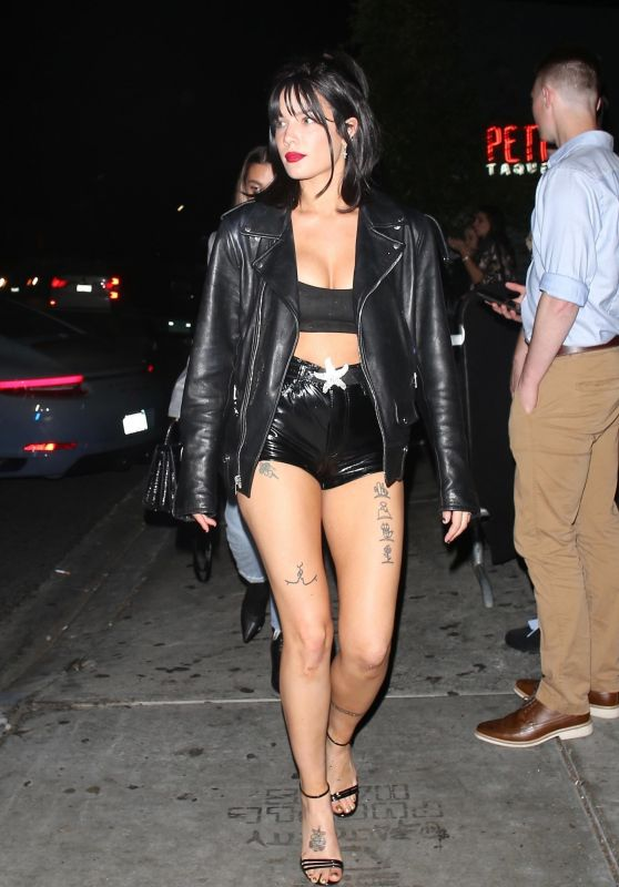Halsey Night Out Style 05/11/2019