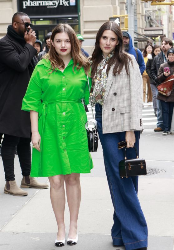 Hannah Murray and Marianne Rendon - Arrive at BUILD Series in NYC 05/01/2019