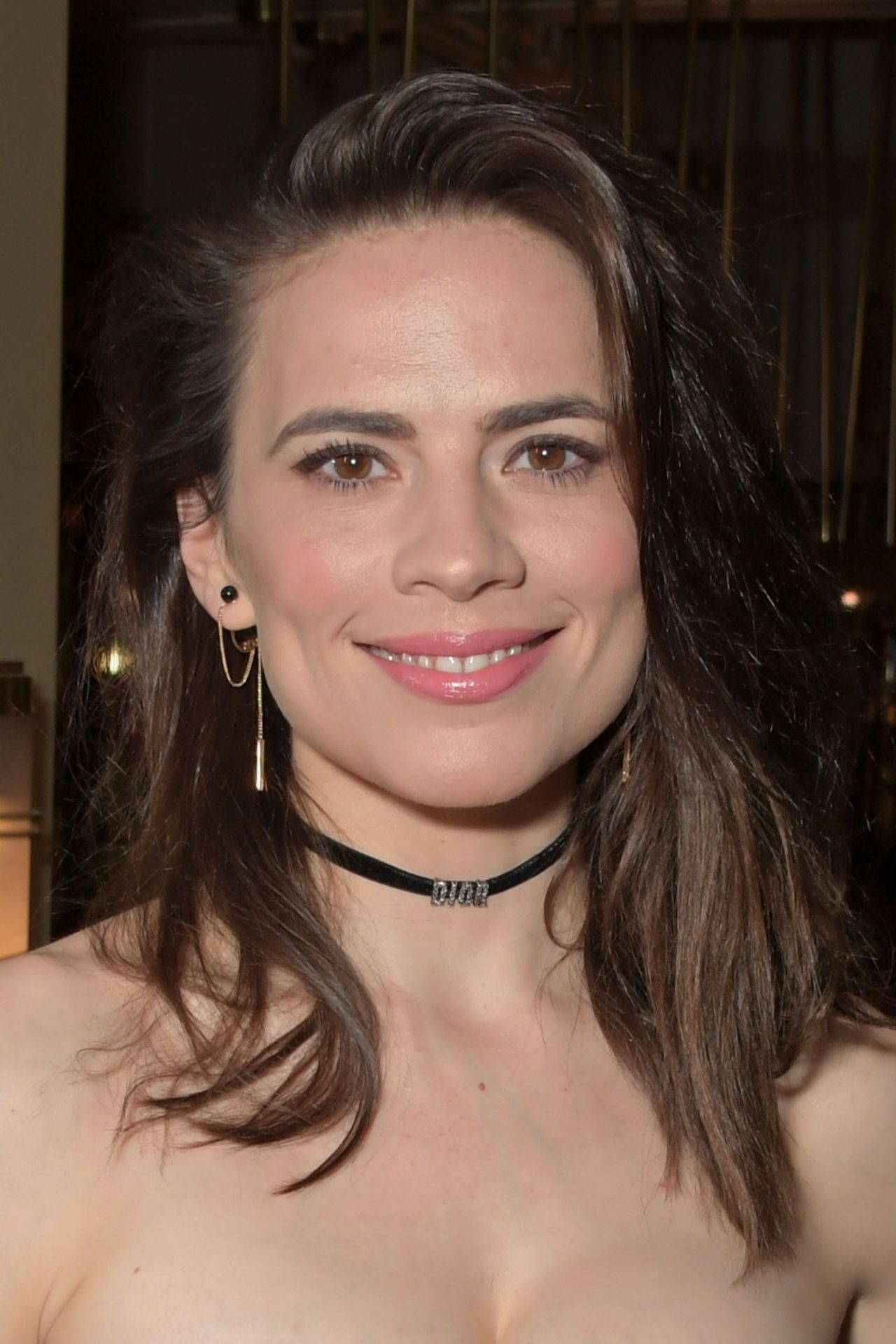 Hayley Atwell - Rosmersholm Press Night After Party in