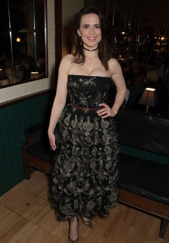 """Hayley Atwell - """"Rosmersholm"""" Press Night After Party in London"""