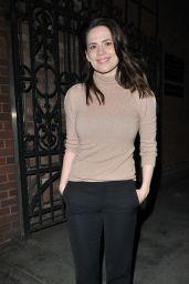 "Hayley Atwell - ""Rosmersholm"" Theatre Cast Departures in London"