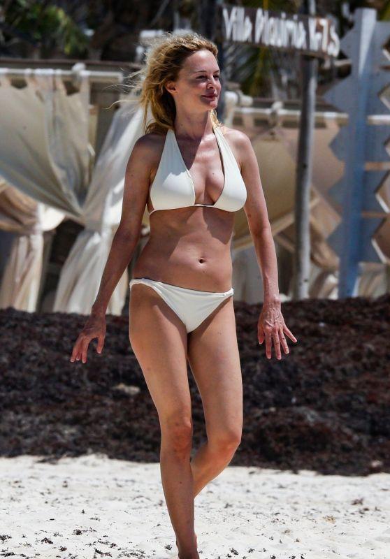 Heather Graham in Bikini - Vacation in Mexico 05/07/2019