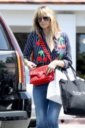 Heidi Klum Street Style - Shopping in Beverly Hills 05/01/2019