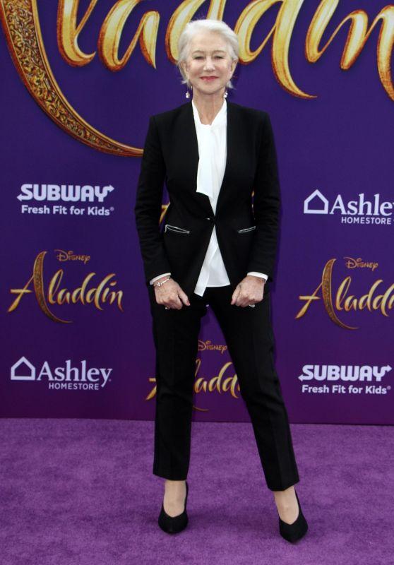 """Helen Mirren – """"Aladdin"""" Premiere in Hollywood"""
