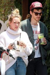 Hilary Duff and Matthew Koma at Alfred in LA 05/28/2019