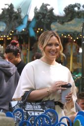 Hilary Duff - On the Set of Younger in NYC 05/22/2019