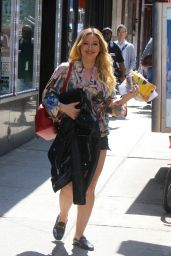 Hilary Duff on the Set of Younger in NYC 05/23/2019
