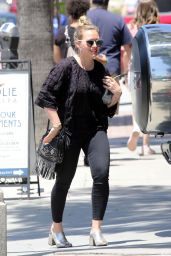 Hilary Duff - Shopping in Studio City 05/29/2019