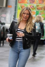 """Hilary Duff - """"Younger"""" Set in NYC 05/10/2019"""