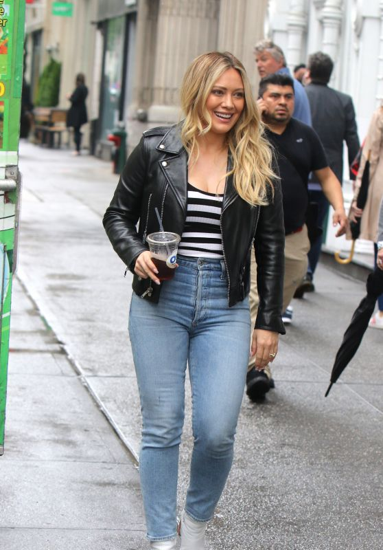 "Hilary Duff - ""Younger"" Set in NYC 05/10/2019"