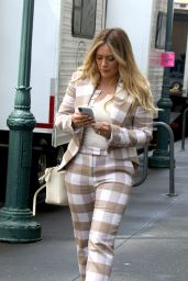 "Hilary Duff - ""Younger"" Set in NYC 05/15/2019"