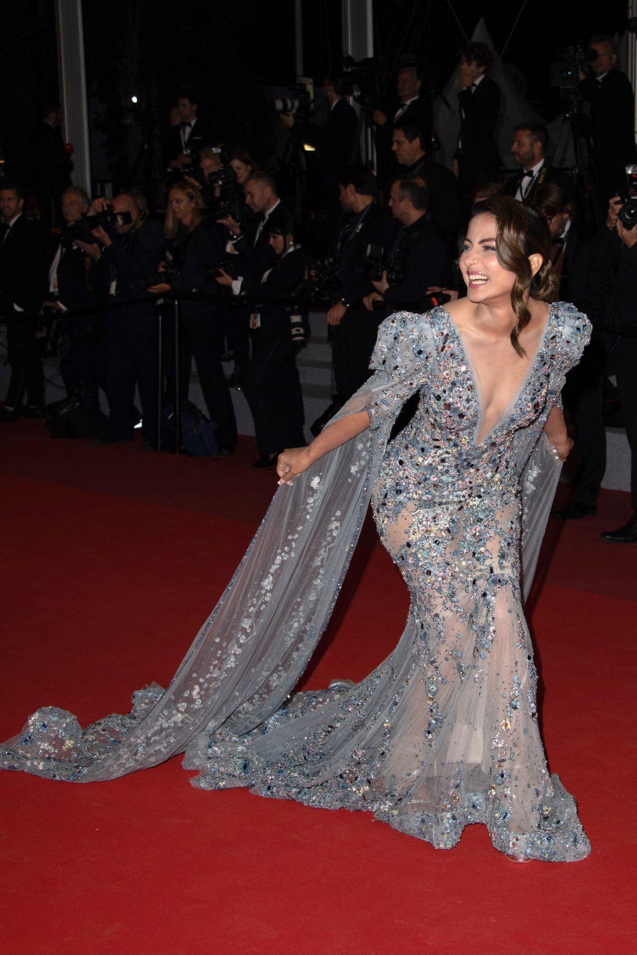 "Acura Santa Monica >> Hina Khan - ""Bacurau"" Red Carpet at Cannes Film Festival"