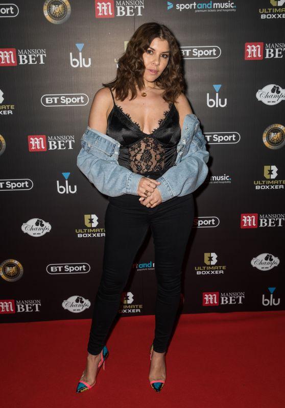 Imogen Thomas - Ultmate Boxing 3 in London