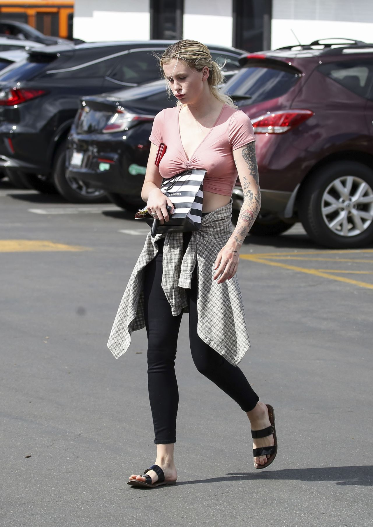 IRELAND BALDWIN Shopping at Sephora in Los Angeles 05/17