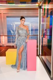 Iris Mittenaere - De Grisogono Technicolor Party Photocall in Cap d