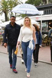 Iskra Lawrence on the Croisette in Cannes 05/19/2019
