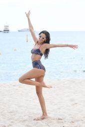 Izabel Goulart in a Bikini at the Beach in Cannes 05/15/2019