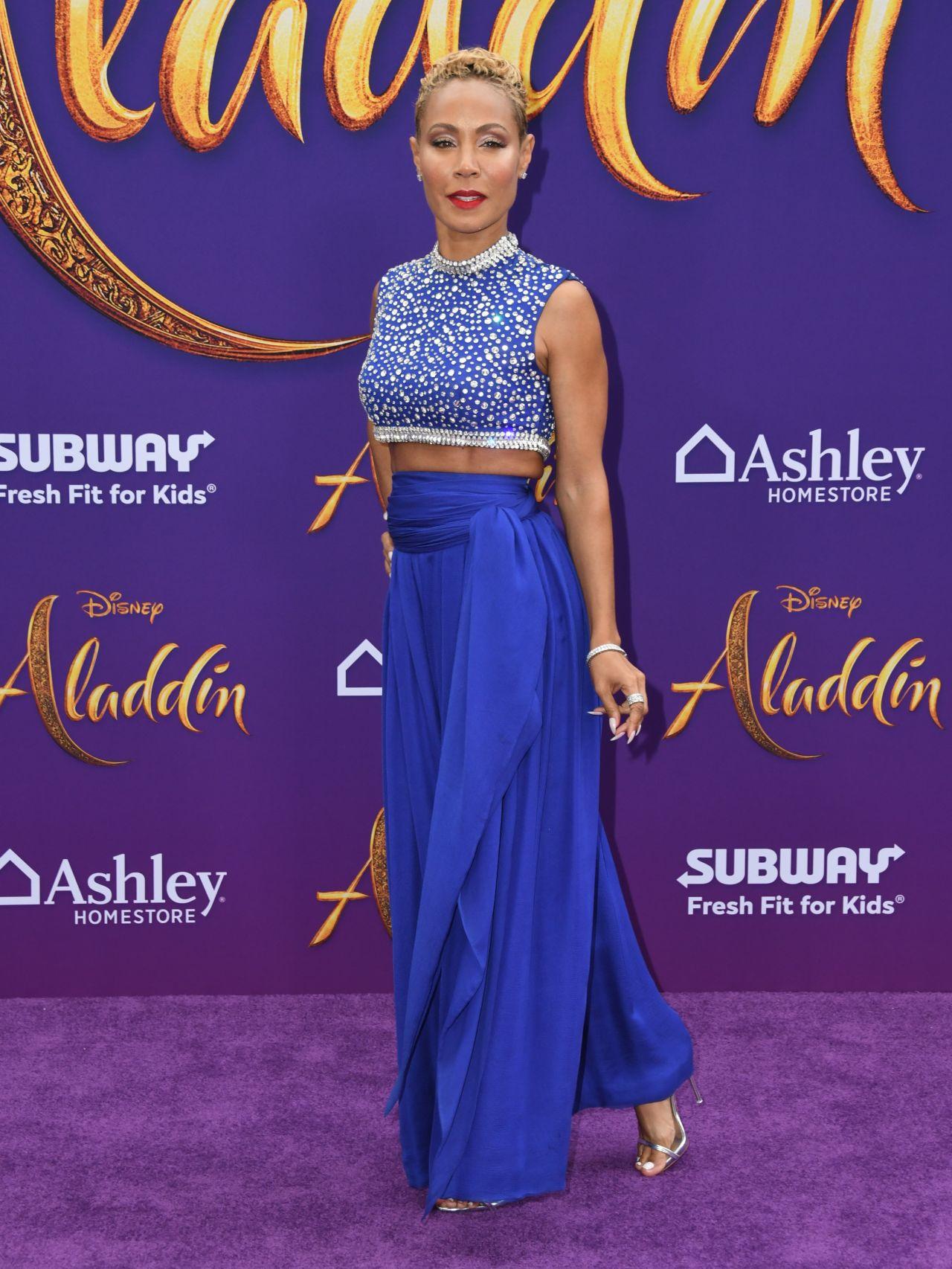 Jada Pinkett Smith Aladdin Premiere In Hollywood