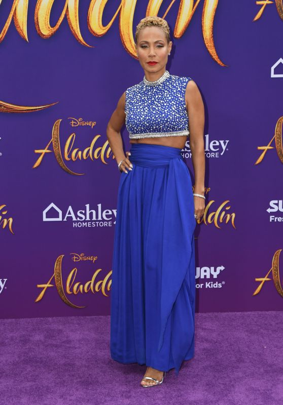 "Jada Pinkett Smith – ""Aladdin"" Premiere in Hollywood"