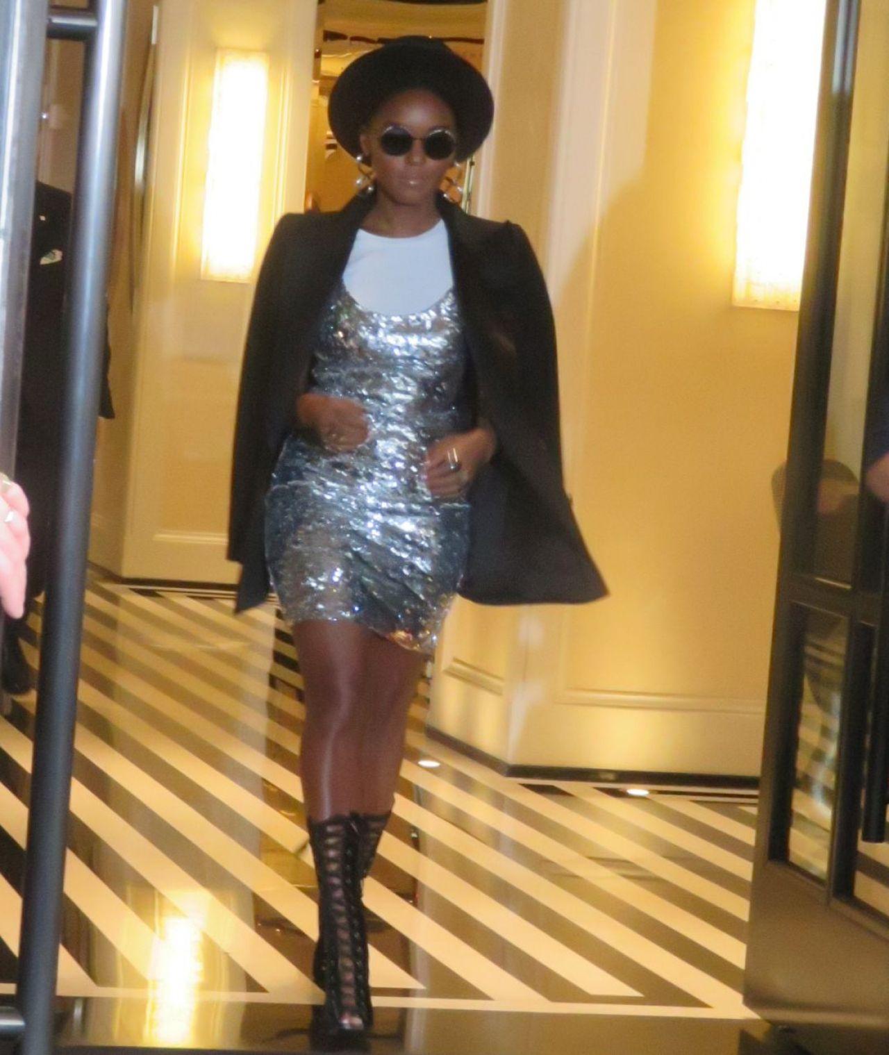 Janelle Monae - Leaving The Mark Hotel in New York City 05/04/2019