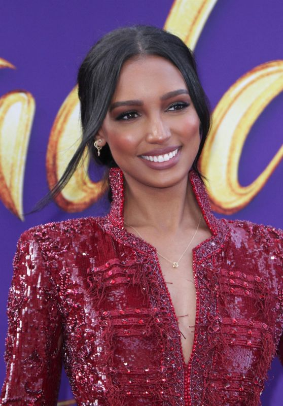 "Jasmine Tookes – ""Aladdin"" Premiere in Hollywood"