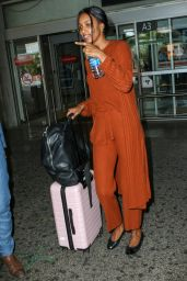 Jasmine Tookes at Nice Airport 05/23/2019