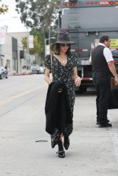 Jenna Dewan and Odette Annable at Gracias Madre in West Hollywood 05/15/2019