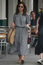 Jenna-Louise Coleman - Out in London 05/27/2019