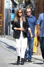 Jennifer Aniston Arriving to Appear on Jimmy Kimmel Live in Hollywood 05/29/2019