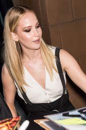 Jennifer Lawrence - Leaving the Tribeca Talks in NYC 04/27/2019