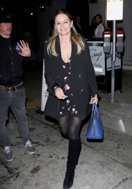 Jennifer Morrison Night Out Style - Craig