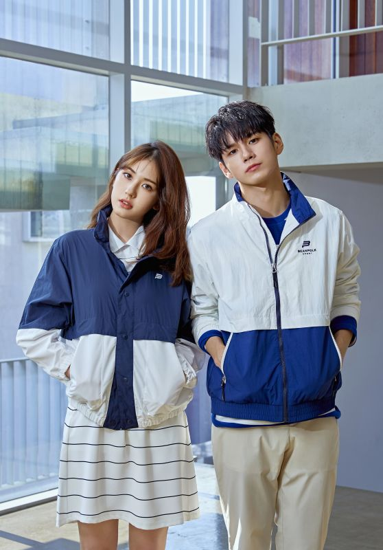 Jeon So Mi & Ong Seong Woo - Photoshoot for Beanpole Sport S/S 2019