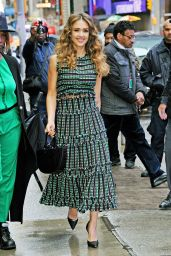 """Jessica Alba - Outside """"Good Morning America"""" in NYC 05/13/2019"""