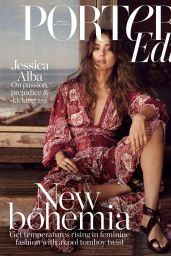 Jessica Alba - The Edit by Net-A-Porter May 2019 Cover and Photos