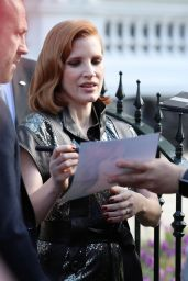 Jessica Chastain - Out in London 05/23/2019