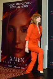 "Jessica Chastain - ""X-Men: Dark Phoenix"" Press Conference in Mexico City"