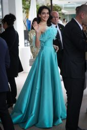 Jessica Kahawaty at the Martinez Hotel in Cannes 05/19/2019