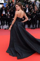 "Josephine Skriver – ""A Hidden Life"" Red Carpet at Cannes Film Festival"