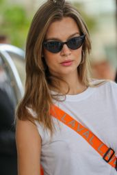 Josephine Skriver at Hotel Martinez in Cannes 05/24/2019