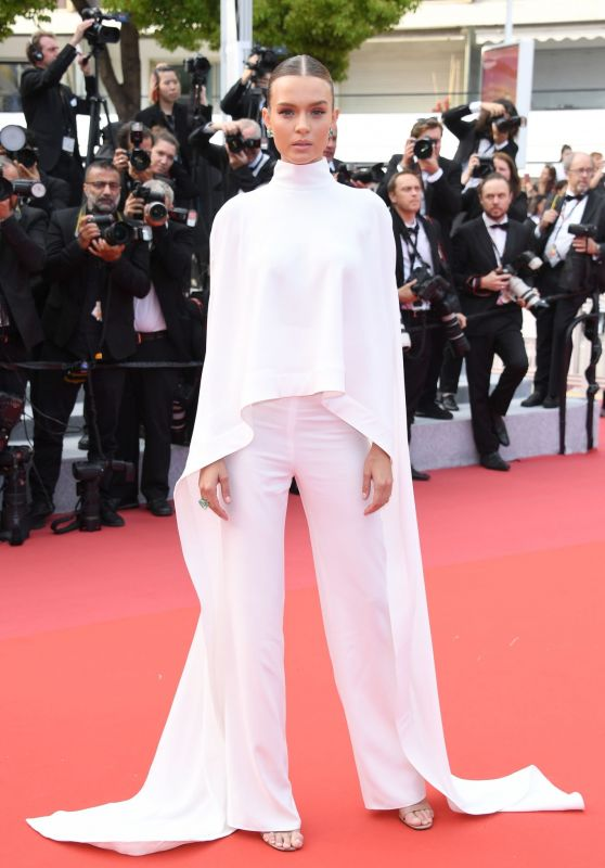 "Josephine Skriver – ""Oh Mercy!"" Red Carpet at Cannes Film Festival"