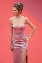 """Josephine Skriver – """"Once Upon a Time in Hollywood"""" Red Carpet at Cannes Film Festival"""