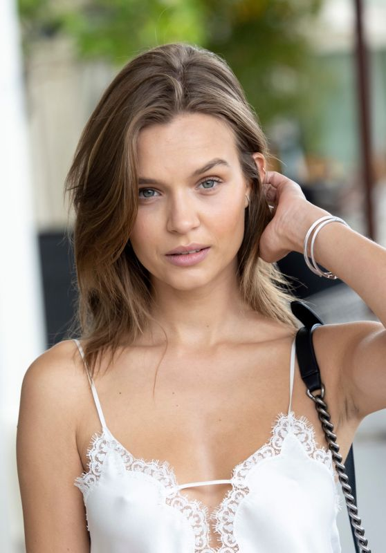 Josephine Skriver - Out in Cannes 05/21/2019