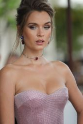 Josephine Skriver - Outside the Martinez Hotel in Cannes 05/21/2019