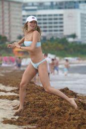 Josie Canseco in Bikini - Beach in Miami 05/12/2019