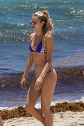 Josie Canseco on the Beach in Miami Beach 05/11/2019