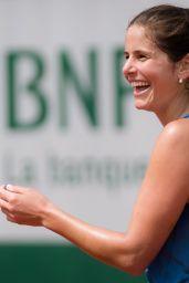 Julia Görges – Practises During the Roland Garros in Paris 05/24/2019