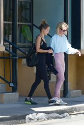 Julianne Hough and Nicole Richie - Leaving a Gym in Los Angeles 05/22/2019