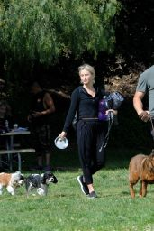 Julianne Hough at Lake Hollywood Park in LA 05/27/2019